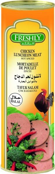Frühstücksfleisch Hähnchen (scharf), 850g