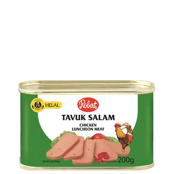 Frühstücksfleisch Hähnchen Hot, 200g