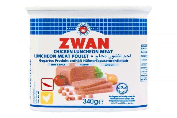 Luncheon mit Hähnchengeschamck (scharf), 200g