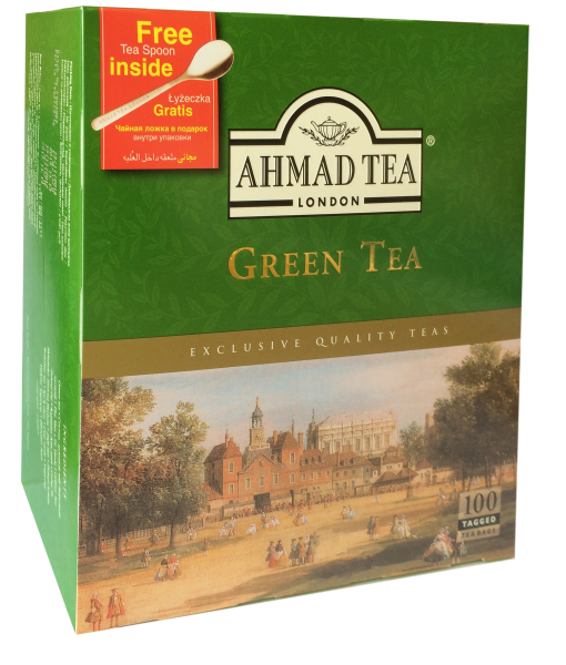 Grüner Tee 2g, 100 Beutel