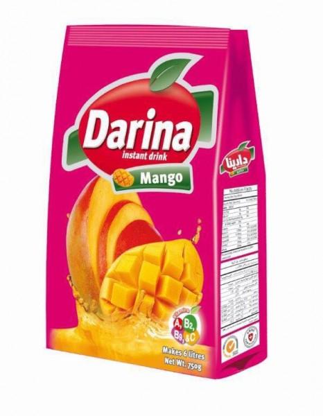 Mango Getränkemischung mit Zucker, 750g