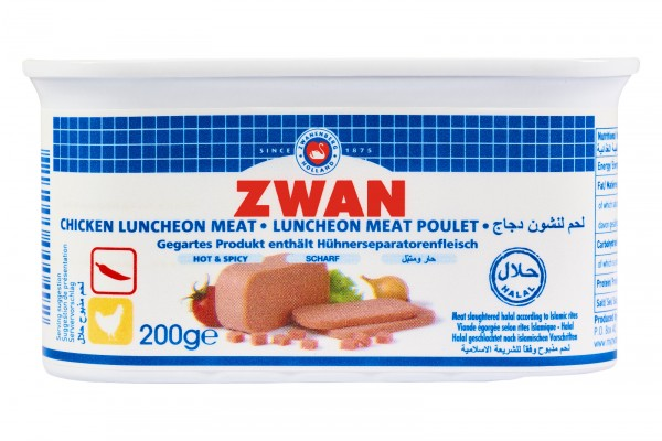 Luncheon mit Hähnchengeschamck, 200g