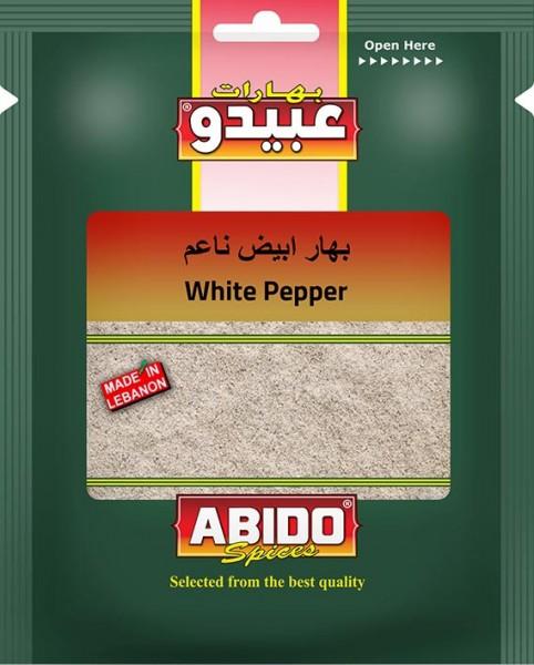 Weißer Pfeffer gemahlen, Mild, 10 x 50g