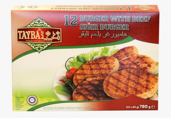 12 Beefburger, 780g