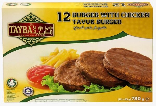 12 Chickenburger, 780g