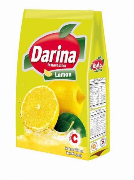 Zitronen Getränkemischung mit Zucker, 750g