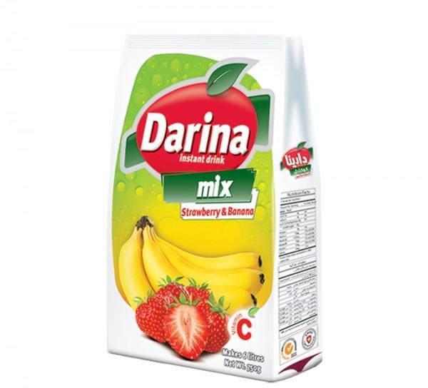 Erdbeer Bananen Getränkemischung mit Zucker, 750g