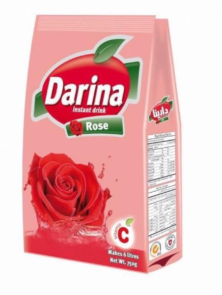 Rosenblätter Getränkemischung mit Zucker, 750g