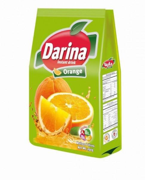Orangen Getränkemischung mit Zucker, 750g