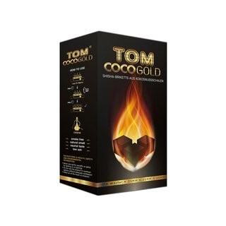 Kohle Gold (Würfel 25x25x25mm), 1kg